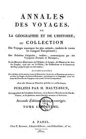 Annales des voyages de la géographie et de l'histoire: Volume5