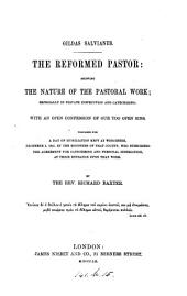 The reformed pastor. with an appendix afterwards added