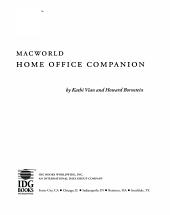 Macworld Home Office Companion PDF