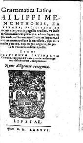 Locutionum Latinarum e Cicerone, Terentio & Plauto, in tria causarum generadistributarum, compendium