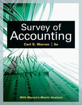 Survey of Accounting: Edition 8