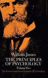 The Principles of Psychology: Volume 2