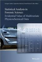 Statistical Analysis in Forensic Science PDF