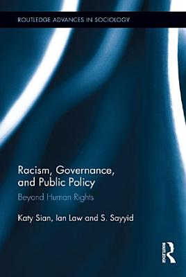 Racism  Governance  and Public Policy