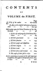 The Works of Sir William Temple, Bart: Volume 1