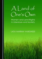 A Land of One   s Own PDF