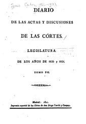 Diario de las actas y discusiones de las Córtes: Legislatura de los años de 1820 y 1821, Volumen 16