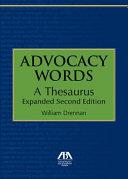 Advocacy Words