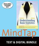 Understanding Basic Statistics   Mindtap Statistics  1 Term   6 Months Access Card  Enhanced PDF