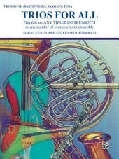 Trios for All: For Bass Clef Instruments