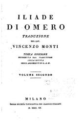 Iliade di Omero: volume primo [-secondo], Volume 2