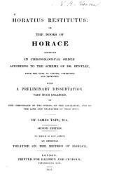 Horatius restitutus