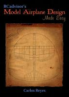 RCadvisor s Model Airplane Design Made Easy PDF