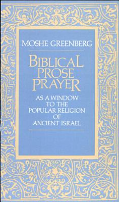 Biblical Prose Prayer