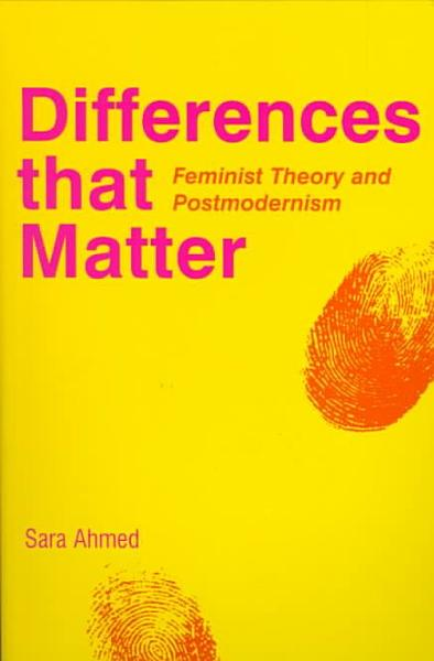 Differences that Matter