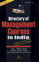 Directory Of Management Courses In India Book PDF