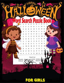 Happy Halloween Word Search Puzzle Book for Girls PDF