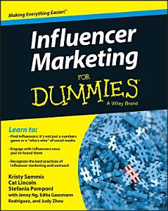 Influencer Marketing For Dummies Book