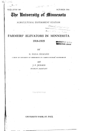 Farmers' elevators in Minnesota, 1914-1915