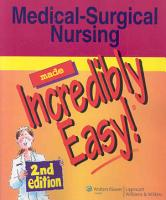 Medical surgical Nursing Made Incredibly Easy  PDF