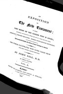 Download An Exposition of the New Testament  etc Book