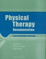 Physical Therapy Documentation PDF