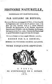 Histoire naturelle, générale et particulière: Volume13