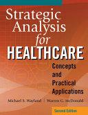 Strategic Analysis for Healthcare PDF