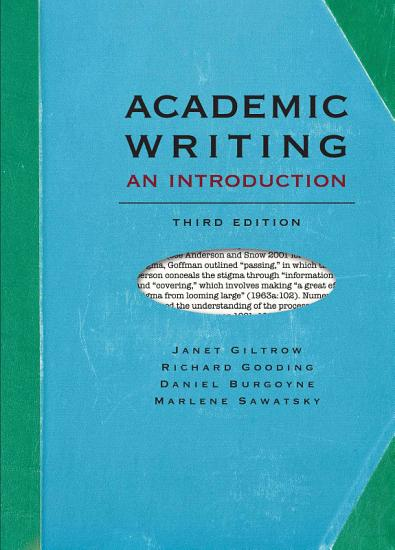 Academic Writing  An Introduction   Third Edition PDF