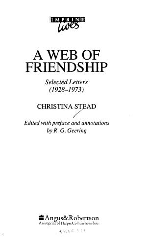 A Web of Friendship