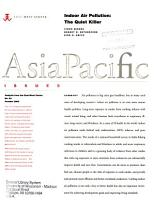 Asia Pacific Issues PDF