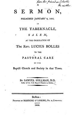 A sermon  on Prov  xi  30  preached at the ordination of     L  Bolles  etc