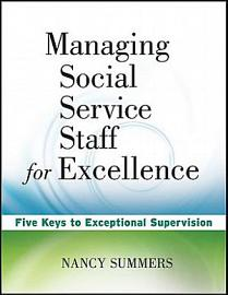 Managing Social Service Staff for Excellence PDF