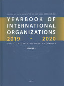 Yearbook of International Organizations 2019 2020 PDF