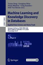 Machine Learning and Knowledge Discovery in Databases. Applied Data Science and Demo Track