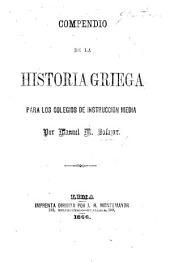 Compendio de la Historia Griega, etc