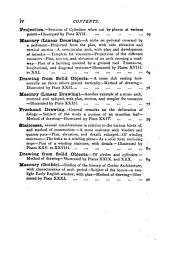Drawing for stonemasons