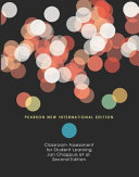 Classroom Assessment for Student Learning  Pearson New International Edition