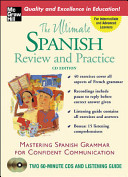 The Ultimate Spanish Review   Practice  Book w 2CDs