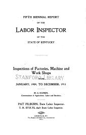 Biennial Report of the Dept. of Labor