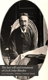 The last will and testament of Cecil John Rhodes: with elucidatory notes to which are added some chapters describing the political and religious ideas of the testator