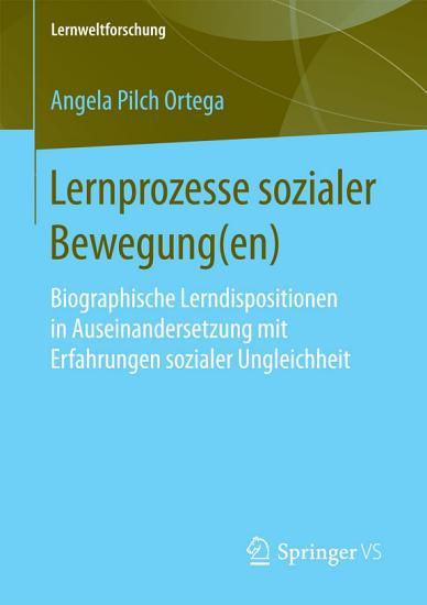 Lernprozesse sozialer Bewegung en  PDF