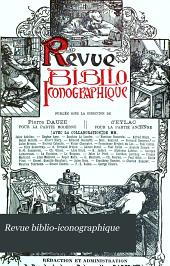 Revue biblio-iconographique: Volume9