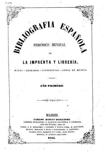 Bibliografia espa  ola Madrid  1855 PDF
