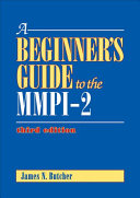 A Beginner s Guide to the MMPI 2 PDF