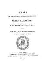 Annals of the First Four Years of the Reign of Queen Elizabeth: Volume 7