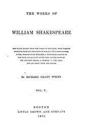 The Works of William Shakespeare: Volume 5
