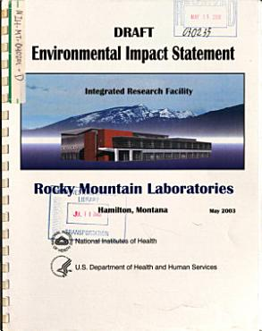 Rocky Mountain Laboratories  Integrated Research Facility PDF