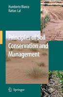Principles of Soil Conservation and Management PDF