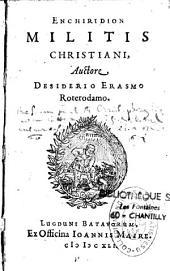 Enchiridion militis christiani